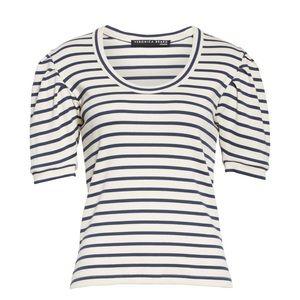 VERONICA BEARD Jeans Fleta striped top